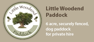 Little Woodend Dog Paddock Button