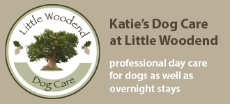 Katie'D Dog Care at Little Woodend Button